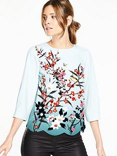oasis-oasis-heather-placement-scallop-34-sleeve-top
