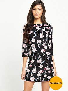 miss-selfridge-floral-sporty-tee-dress