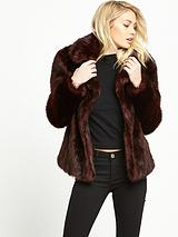Molly Boxy Fur Coat