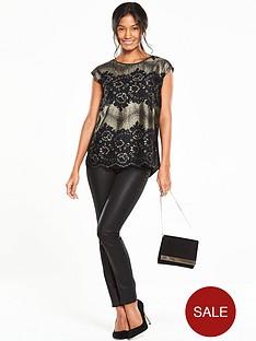 oasis-metallic-lace-t-shirt