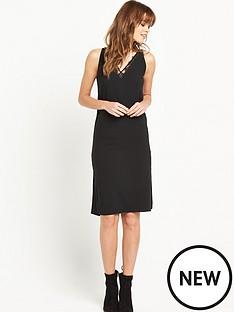 miss-selfridge-lace-trim-dress