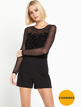 miss-selfridge-cornelli-playsuit-black