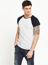 Superdry Lite Loom Baseball T-Shirt
