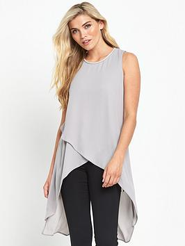 wallis-embellished-neck-asymmetric-layer-grey