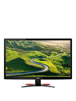Acer G246Hlfbid 24 Inch Gaming Monitor 169 Fhd 60Hz 1Ms Response Tn Hdmi  Black And Red