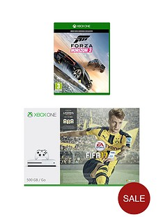 xbox-one-500gb-console-with-fifa-17-forza-horizon-3-and-optional-extra-controller-and-12-months-xbox-live