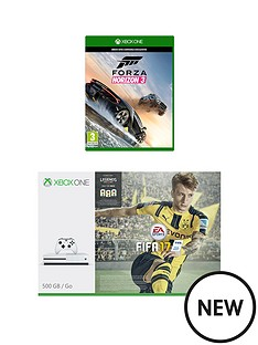 xbox-one-500gb-console-with-forza-horizon-3-and-optional-extra-controller-and-3-months-xbox-live