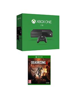 xbox-one-1tb-console-with-dead-rising-4-with-optional-extra-controller-and-3-months-xbox-live