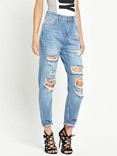 river-island-super-ripped-high-waisted-momnbspjean