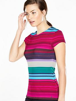 ted-baker-blushing-stripe-fitted-tee