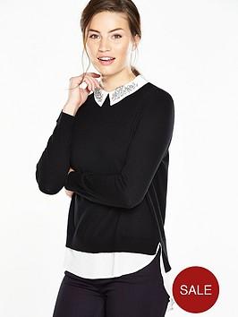 ted-baker-woven-shirt-detail-jumper