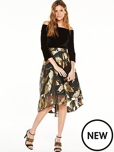 coast-maneela-jacquard-skirt-dress