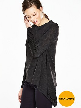 ted-baker-crew-neck-asymmetric-hem-sparkle-top