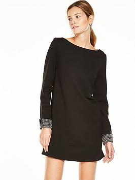 french-connection-french-connection-crystal-shot-tunic-dress