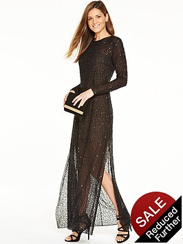 french-connection-hettie-jewels-maxi-dress-black
