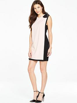 ted-baker-double-layer-dress-with-bow