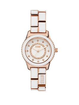 storm-mini-zarina-white-dial-two-tone-bracelet-ladies-watch