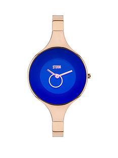 storm-ola-blue-dial-rose-tone-bracelet-ladies-watch