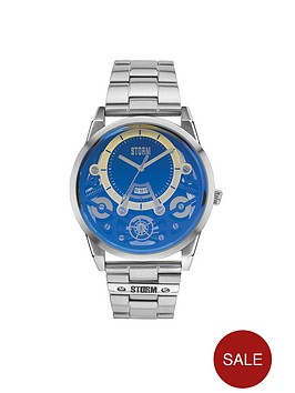 storm-mechron-lazer-blue-dial-stainless-steel-bracelet-mens-watch