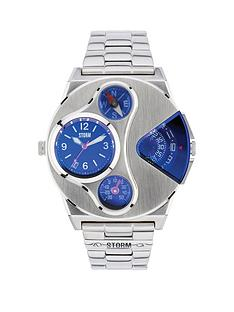 storm-v2-navigator-lazer-blue-stainless-steel-mens-watch