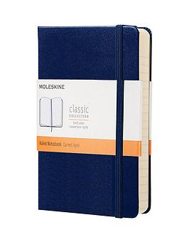 moleskine-moleskine-classic-a6-hard-cover-ruled-notebook-navy