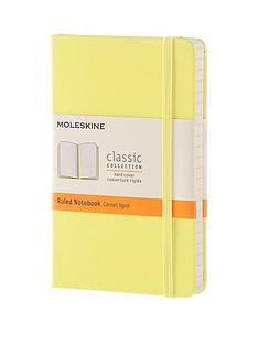 moleskine-moleskine-classic-a6-hard-cover-ruled-notebook--citron-yellow