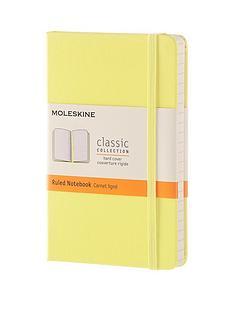moleskine-moleskine-classic-a6-hard-cover-ruled-notebook--citron-yellow