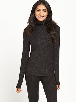 Charnos Charnos Second Skin Thermal Roll Neck Long Sleeve Top