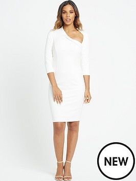 rochelle-humes-curved-neckline-pencil-dress