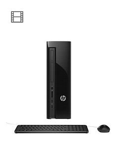 hp-slimline-411-a020na-intelreg-pentiumreg-processor-4gb-ram-1tb-hard-drive-desktop-base-unit-with-optional-microsoft-office-365-black