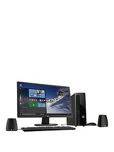 hp-slimline-411-a020na-intelreg-pentiumreg-processor-4gb-ram-1tb-hard-drive-desktop-bundle-with-24-inch-monitor-and-optional-microsoft-office-365-black