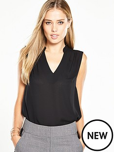 v-by-very-sleeveless-v-neck-blouse
