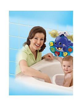 Vtech Vtech Baby Bathtime Bubbles Whale Bath Toy