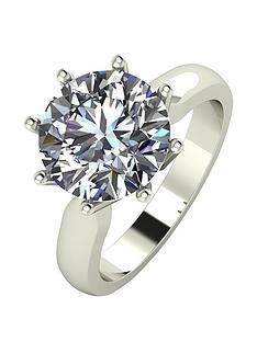moissanite-9ct-gold-4ct-eq-moissanite-solitaire-ring