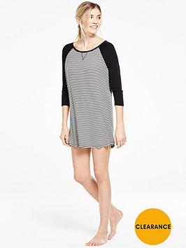 v-by-very-striped-nightdress