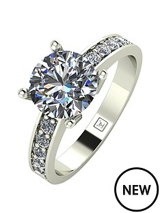 moissanite-moissanite-premier-collection-9ct-gold-225ct-total-moissanite-ring