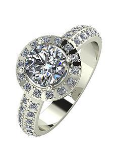 moissanite-moissanite-premier-collection-9ct-gold-140ct-total-moissanite-halo-ring