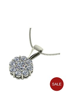 moissanite-moissanite-premier-collection-9ct-gold-085ct-moissanite-daisy-cluster-pendant