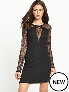 vila-vila-lace-sleeve-dress