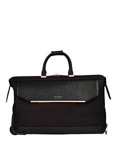 ted-baker-albany-wheeled-trolley-duffle