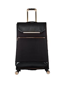 Ted Baker Ted Baker Albany 4 Wheeled Trolley Large Case Picture
