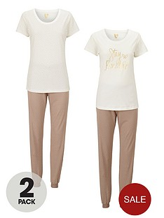 v-by-very-stay-beautiful-short-sleeved-2-pack-pyjamas