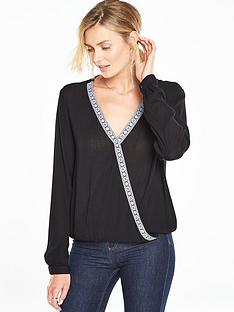v-by-very-wrap-trim-blouse