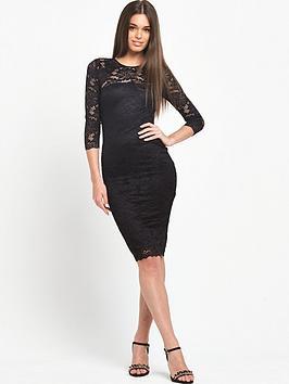ax-paris-lace-midi-dress