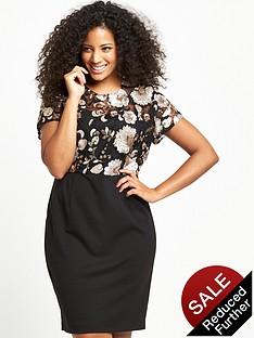 so-fabulous-floral-sequin-ponti-skirt-dress