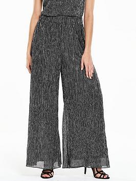 v-by-very-lurexnbspwide-leg-trouser