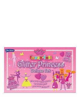 fuzzy-felt-glitter-princess