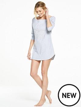 v-by-very-wake-up-embellished-night-dress