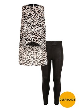 river-island-girls-leopard-print-top-and-leggings-set