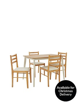 ellen-114-cm-dining-table-4-chairs